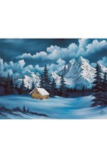 Wellspring Bob Ross Winter Puzzle