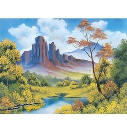 Wellspring Bob Ross Fall Puzzle