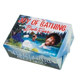Unemployed Philosopher The Joy of Bathing Bob Ross Soap