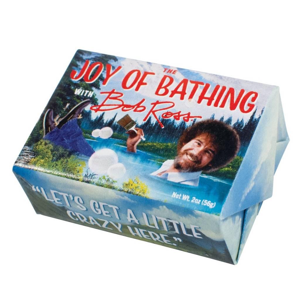 Unemployed Philosopher The Joy of Bathing Bob Ross Soap
