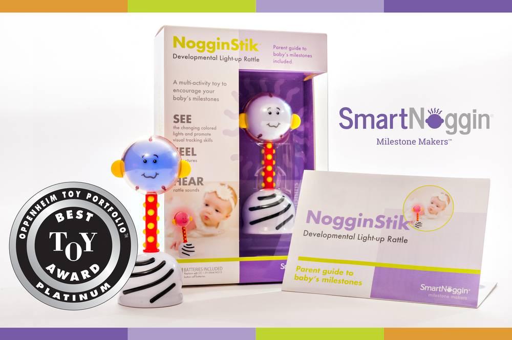 Noggin Stik - Developmental Rattle