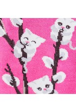 Sock It To Me Kitty Willows - Women's Knee Funky