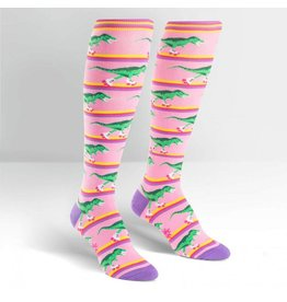 Sock It To Me Rawr-ler Rink - Women's Knee Funky