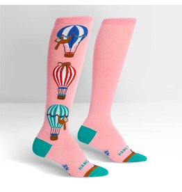 Sock It To Me Hang In There - Women's Knee Funky
