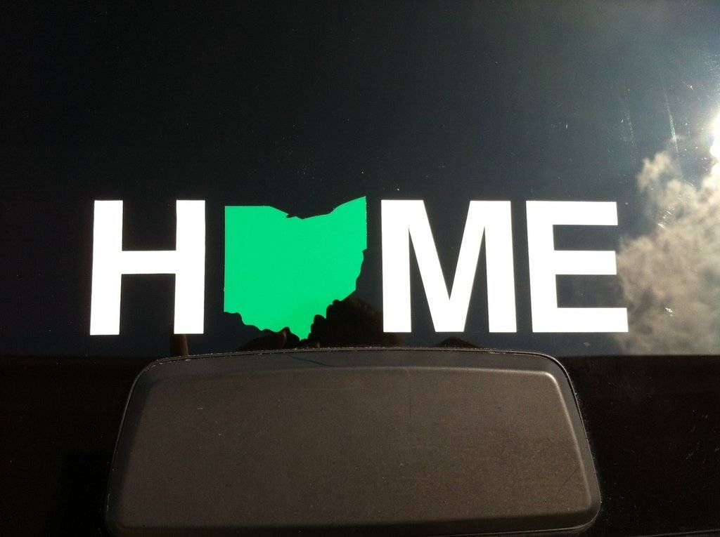 Home Ohio Sticker - Green ?