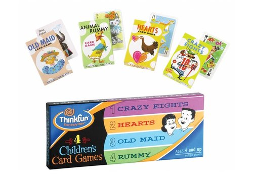 THINK FUN 4 Children's Card Games