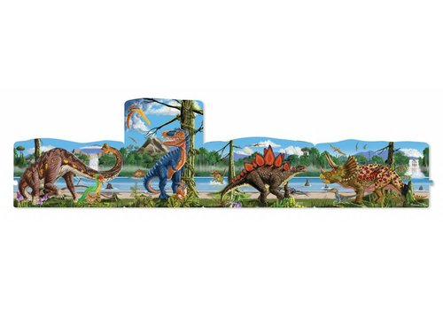Melissa & Doug Land of the Dinosaurs Floor Puzzle
