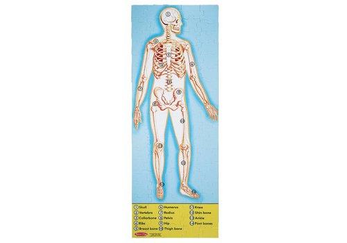Melissa & Doug Human Anatomy Puzzle - 100 pc