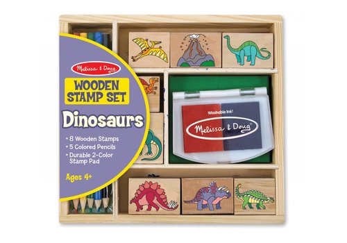 Melissa & Doug Dinosaurs Stamp Set