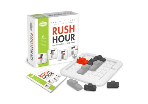 THINK FUN Brain Fitness - Rush Hour Logic Game