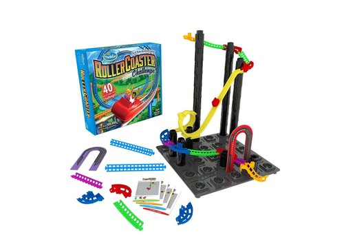 Roller Coaster Challenge, Thrill RIde Building Game