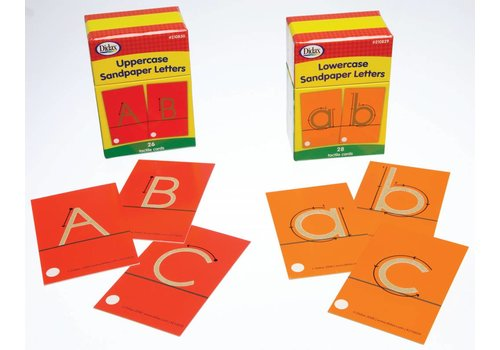 Didax Sandpaper Letters, lowercase