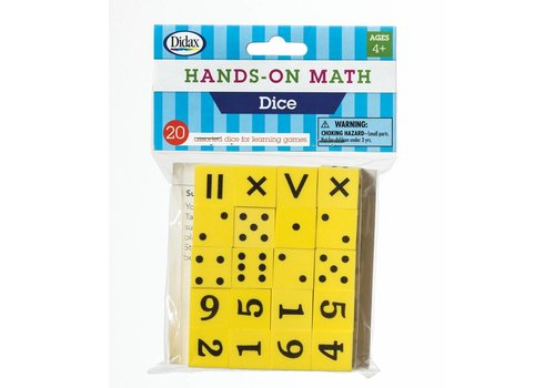 Didax Hands-On Math  Dice