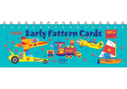 Didax Unifix Early Pattern Book 6
