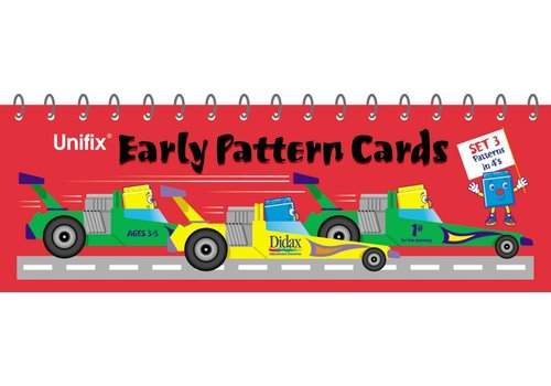 Didax Unifix Early Pattern Book 3