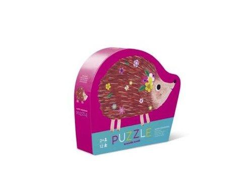 Crocodile Creek 12 pc Mini Puzzle/Happy Hedgehog NEW!