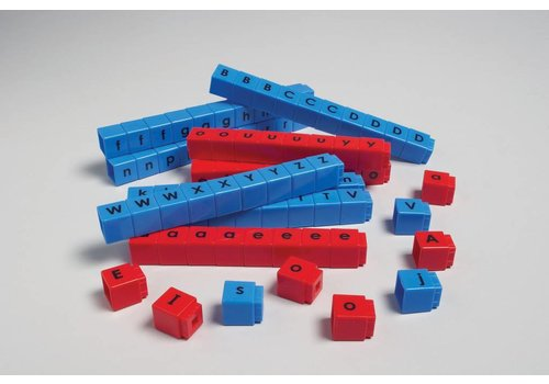 Didax Unifix Letter Cubes - CVC set of 90