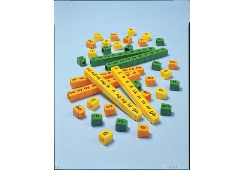 Didax Unifix Letter Cubes Blends
