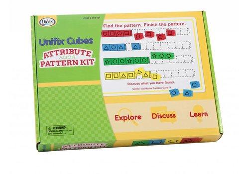 Didax Unifix Cubes - Attribute Pattern Kit