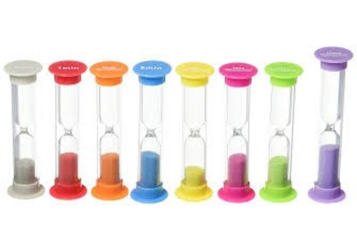 Teacher Created Resources Small Sand Timers Combo 8-Pack