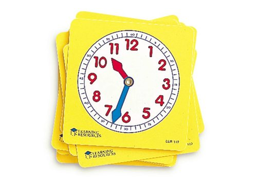 Learning Resources Student Clock Dials