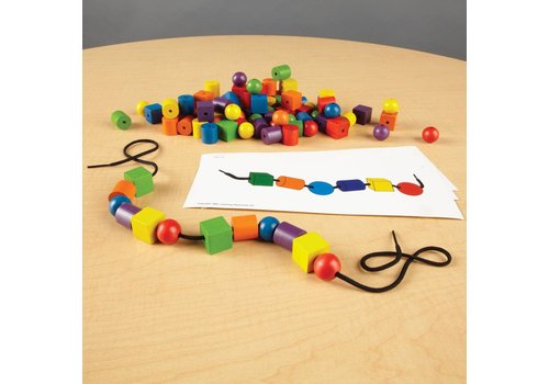 Learning Resources Beads & Pattern Card Set