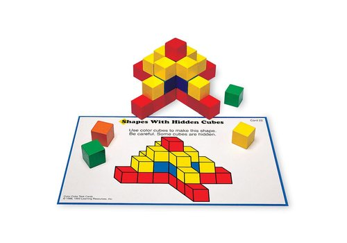 Learning Resources Creative Color Cubes Activity Set