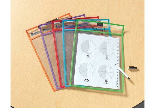 Learning Resources Write & Wipe Pockets