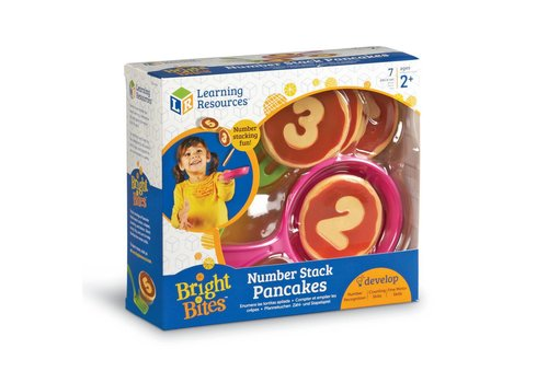 Learning Resources Bright Bites Number Stack Pancakes