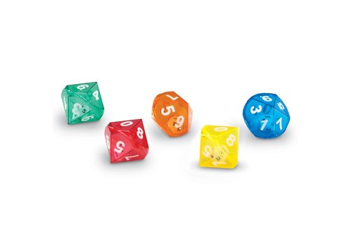 Learning Resources 10-Sided Dice in Dice