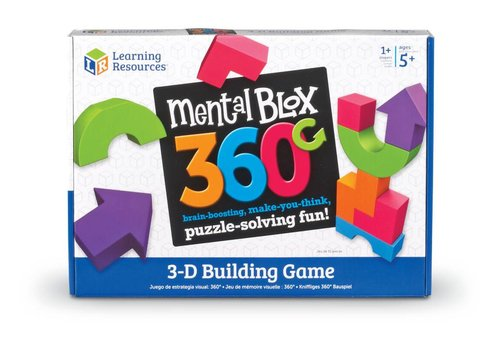 Learning Resources Mental Blox 360  3-D Building Game