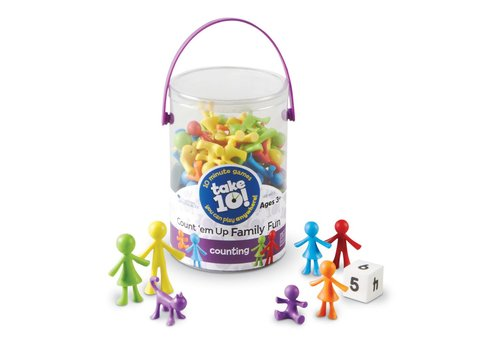 Learning Resources Take 10! Count 'em Up Family Fun