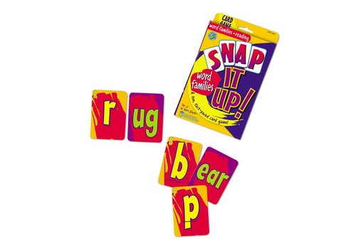 Learning Resources Snap It Up Word Families Game