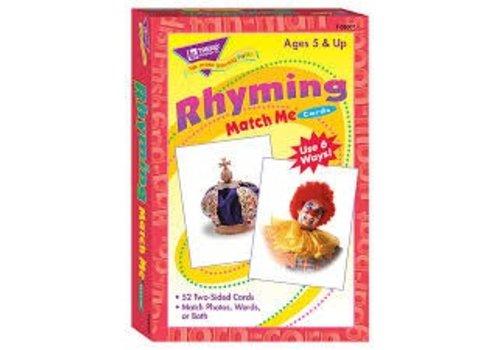 Trend Enterprises Rhyming Match-Me Cards