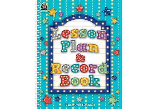 Teacher Created Resources Marquee Lesson Plan & Record Book