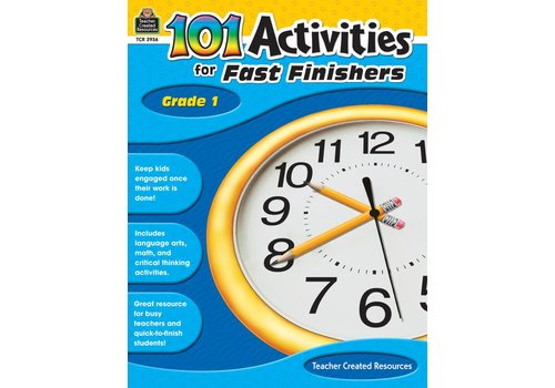 Teacher Created Resources 101 Activities for Fast Finishers (Gr. 1)