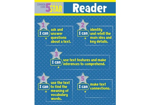 Creative Teaching Press 5 Star Reader Chart