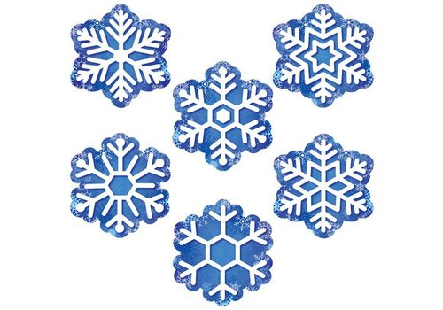 "Creative Teaching Press Snowflakes 6"" Cut Outs"