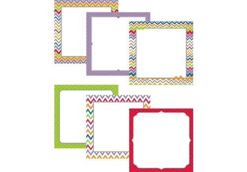 "Creative Teaching Press Chevron 6"" Designer Cut-Outs"