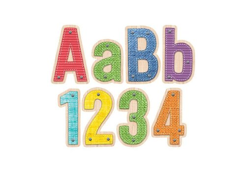 """Creative Teaching Press Upcycle Style 4"""" Designer Letters"""