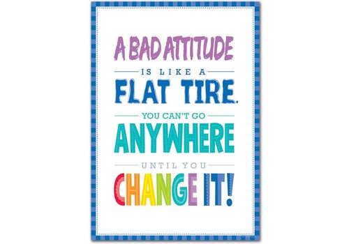 Creative Teaching Press A Bad Attitude Is... Inspire U Poster