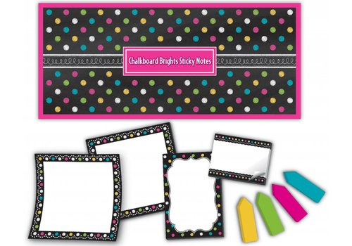 Teacher Created Resources Chalkboard Brights Sticky Notes
