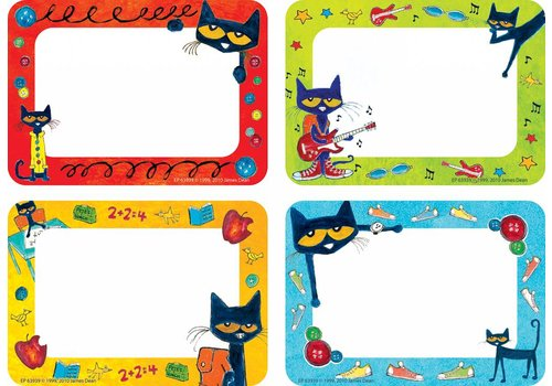Teacher Created Resources Pete the Cat Name Tags