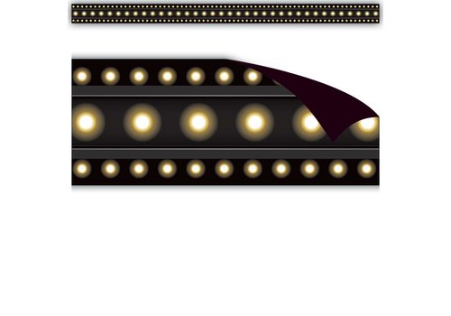 Teacher Created Resources Black Marquee Magnetic Border