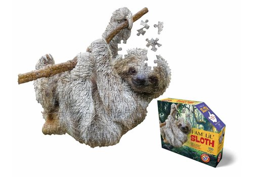 e11even I Am Lil' Sloth Shape Puzzle