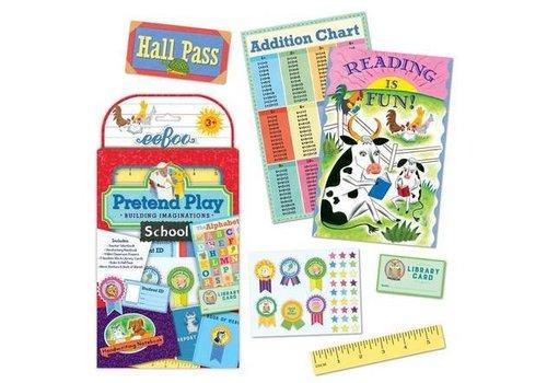 Eeboo School Pretend Play - Building Imaginations