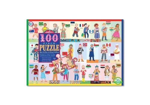 Eeboo Children of the World 100 Piece Puzzle