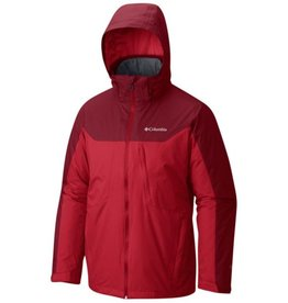 Columbia Men's Whirlibird Interchange Jacket Mountain Red, Beet S