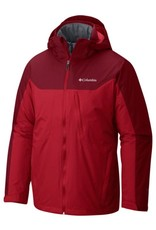 Columbia Men's Whirlibird Interchange Jacket Mountain Red, Beet S
