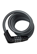 Abus Abus  Tresor 6512C  Cable avec serrure a combinaison a 4 chiffres  12mm x 180cm (12mm x 5.9')
